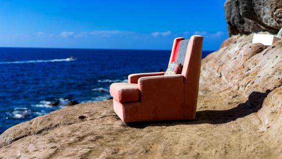 Jak siedzisz, to siedź - czyli o sekrecie szczęścia