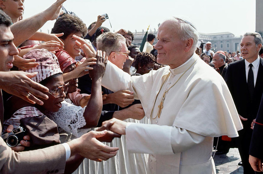The record breaking pontificate of John Paul II