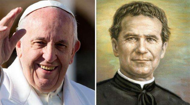 """Homilía: Audiencia General Aula Pablo VI - """"Los tres amores blancos de Don Bosco: La Virgen, la Eucaristía y el Papa""""."""