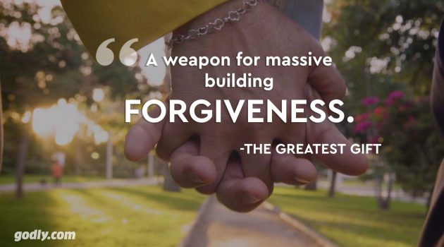 A weapon for massive building: FORGIVENESS
