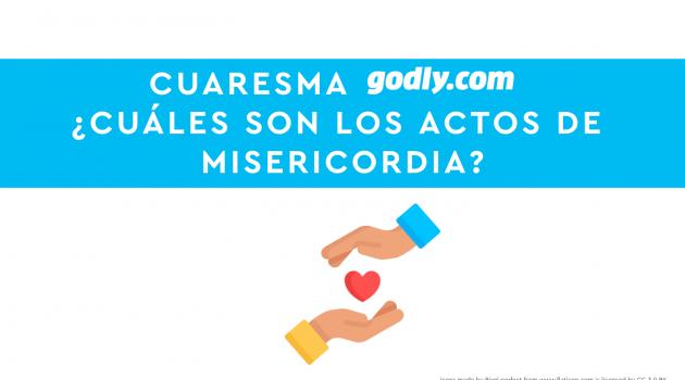 Cuaresma Godly 2019: Actos de Misericordia | LIMOSNA