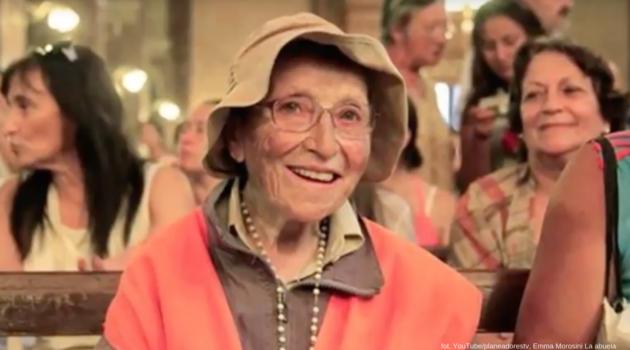 """95-letnia """"babcia pątniczka"""" z Włoch po pokonaniu ok. 1 tys. kilometrów jest już na Jasnej Górze!"""